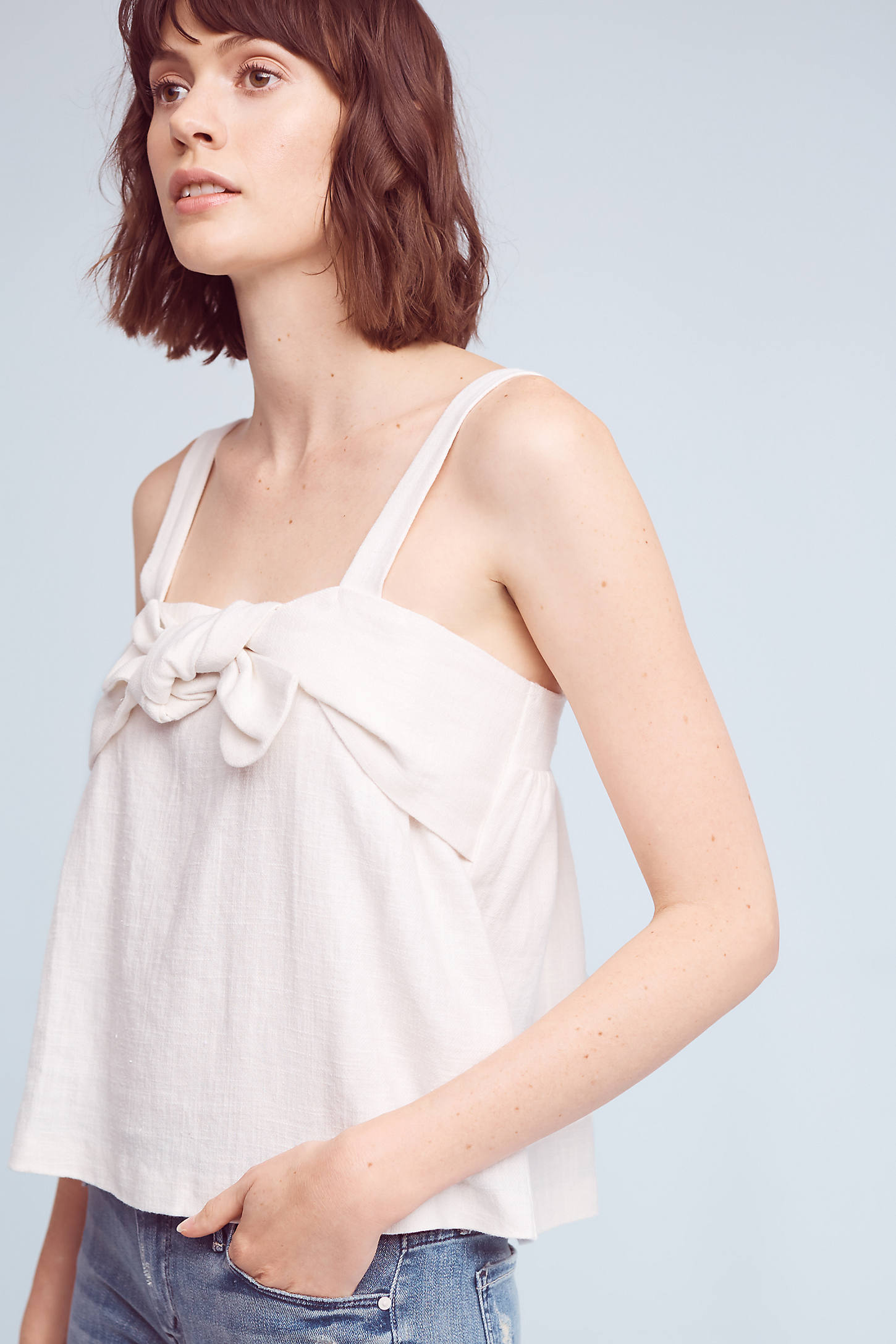 Linda Knotted Blouse