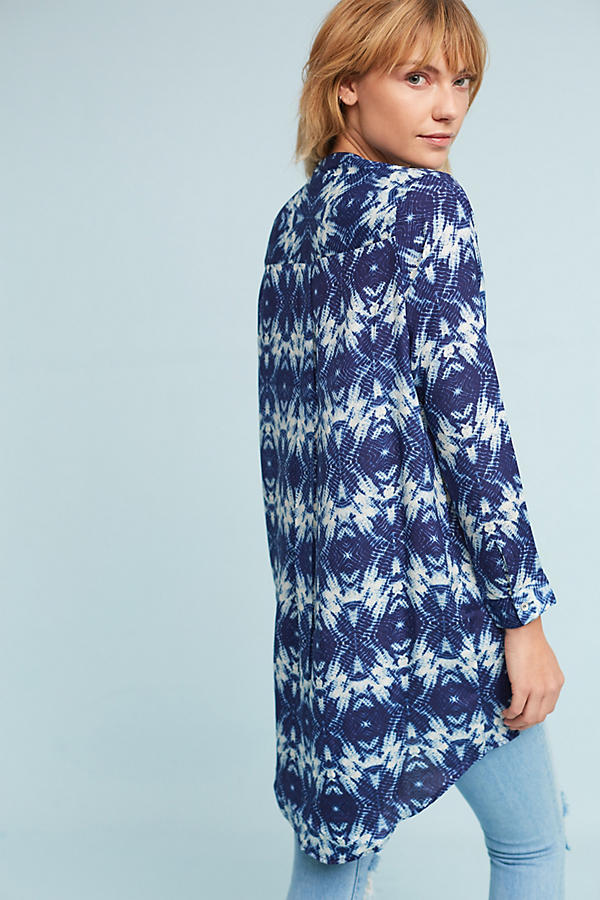 Slide View: 4: Olivia Silk Tunic