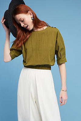 Slide View: 1: Paola Banded Top