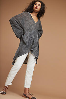 Slide View: 1: Andy Linen Tunic