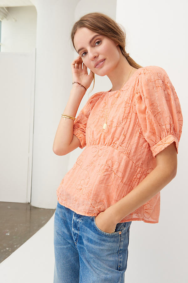 Nika Embroidered Blouse