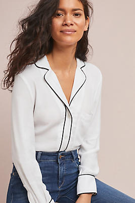 Slide View: 1: McGuire Rossi Pajama-Style Top