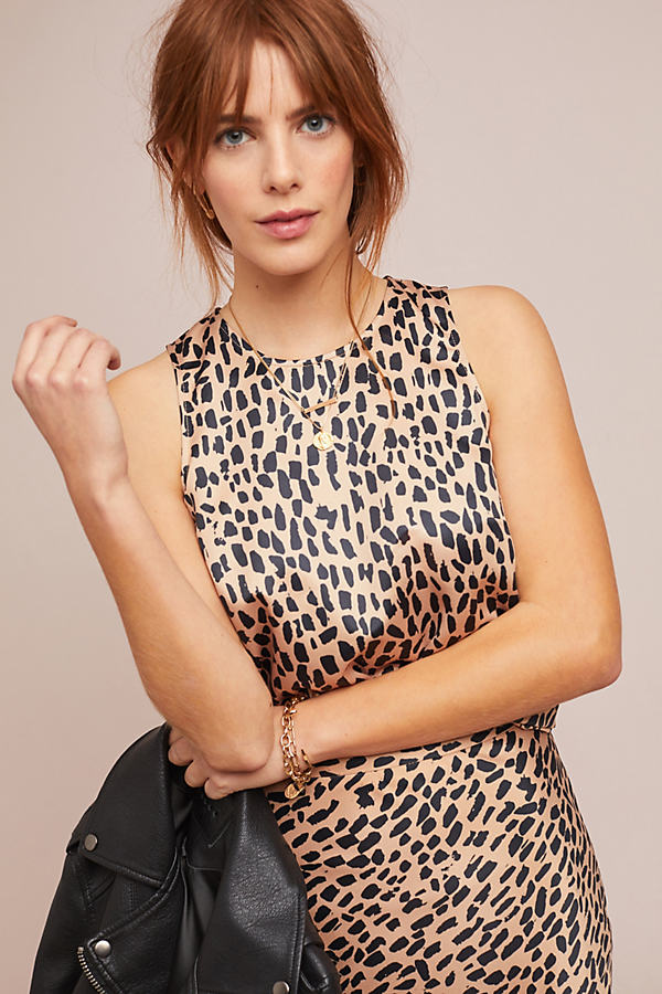 Nadine Leopard-Print Top - Assorted, Size S