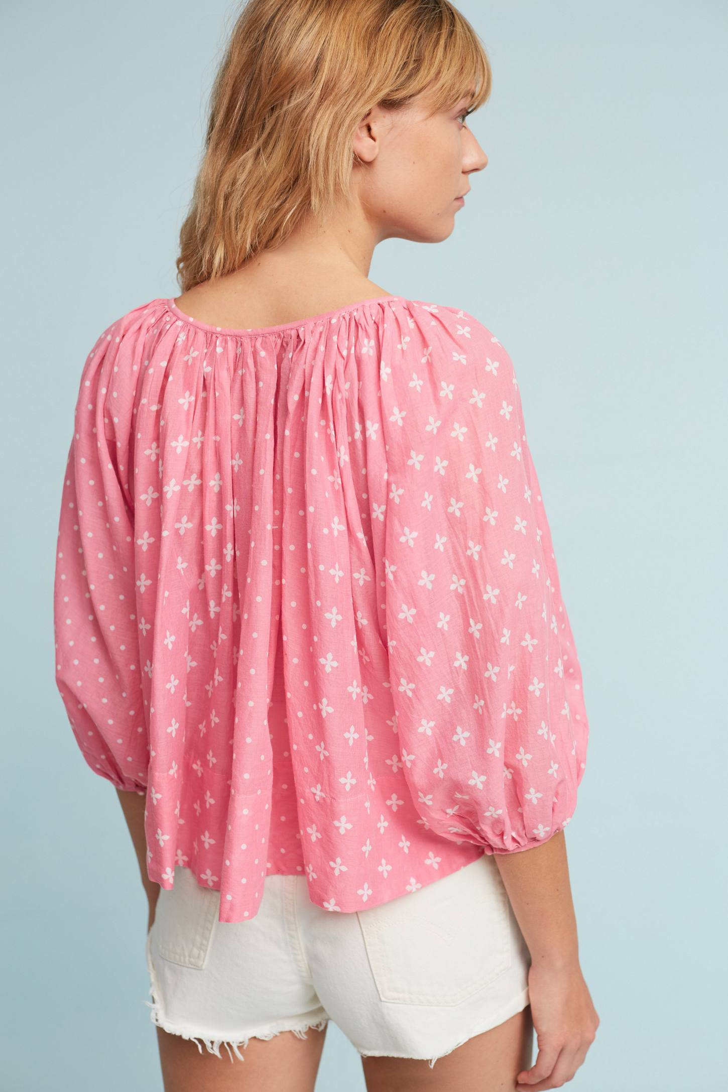 Slide View: 3: Luma Peasant Top