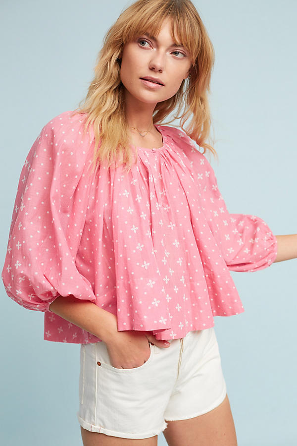 Slide View: 1: Luma Peasant Top
