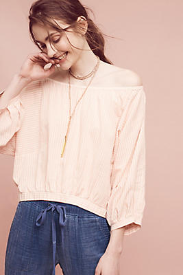 Slide View: 1: Aria Off-The-Shoulder Top