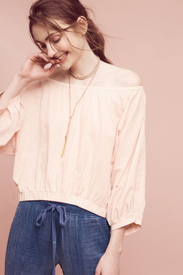 Holding Horses Aria Off-The-Shoulder Top
