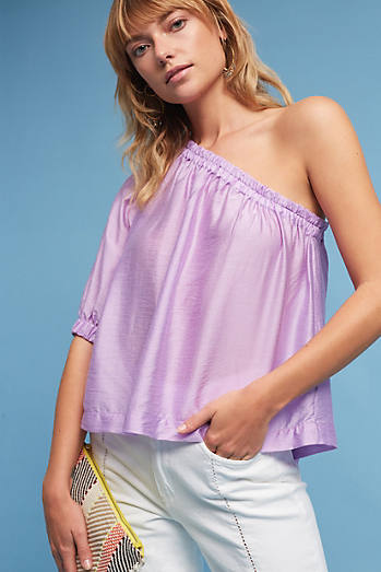 Leonie One-Shoulder Top