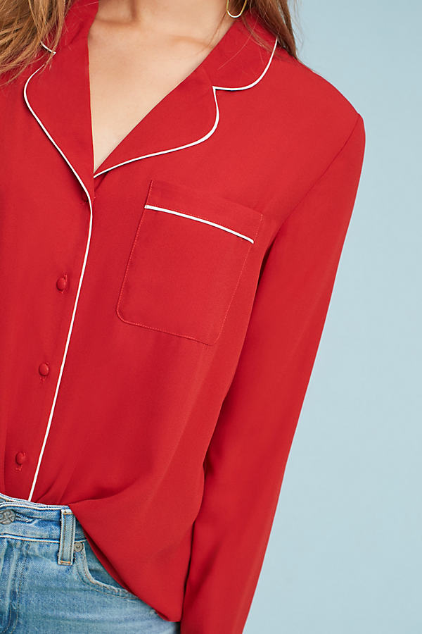 Rayne Shirt - Red, Size S