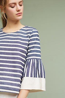 Slide View: 1: Mariana Striped Top