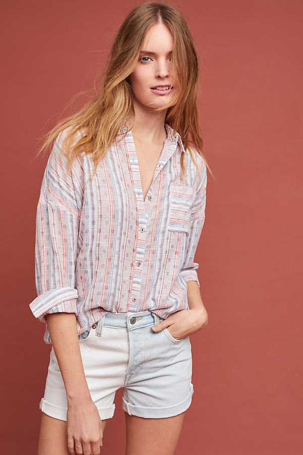 Breckenridge Striped Shirt - Assorted, Size Xs