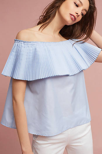 Vienna Off-The-Shoulder Blouse