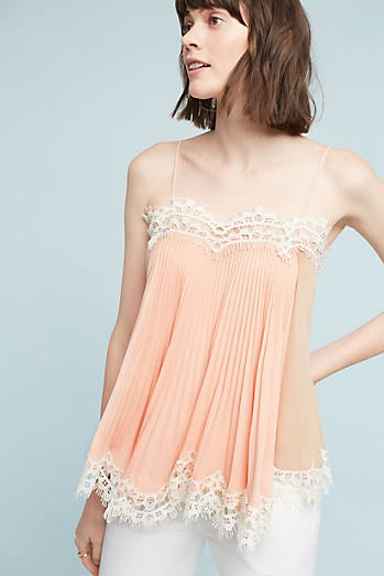 Pleated Swing Cami