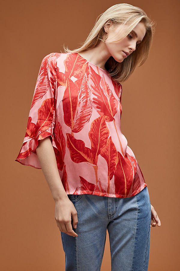 Just Female Laurie Printed Top - Assorted, Size Xs
