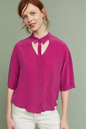 Mairead Silk Blouse