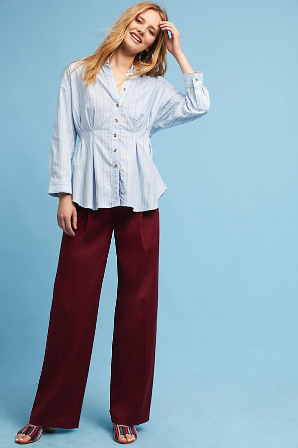 Slide View: 2: Benna Striped Buttondown