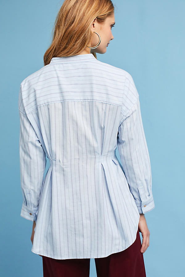 Slide View: 4: Benna Striped Buttondown