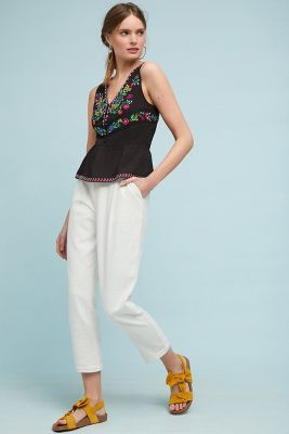 Carlotta Embroidered Blouse by Maeve