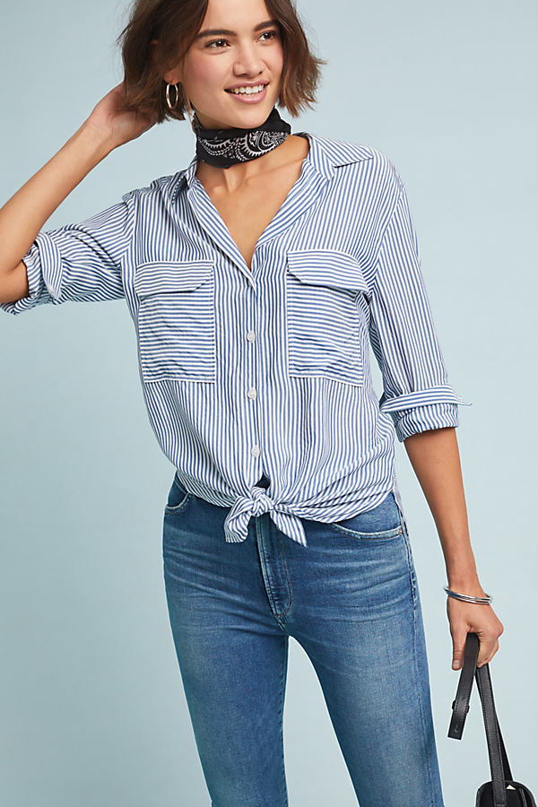 Zadie Striped Shirt - Assorted, Size Xs