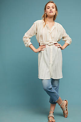 Slide View: 1: Chatelaine Striped Tunic