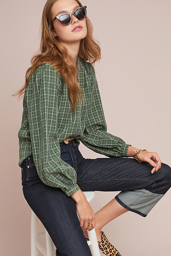 Marion Plaid Shirt - Assorted, Size S