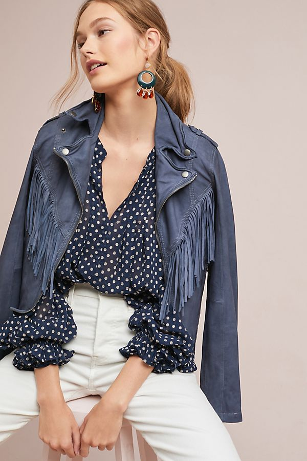 Iets Nieuws Bosworth Polka Dot Blouse | Anthropologie #AP79