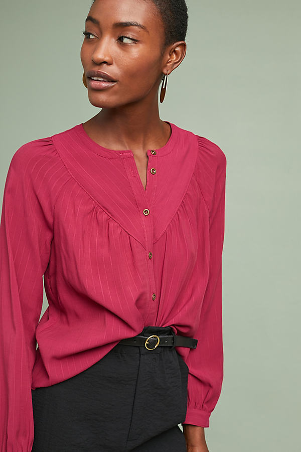 Avignon Blouse - Purple, Size S
