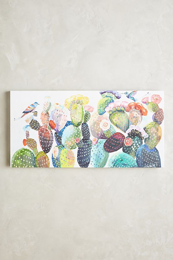 Cactus Wall Art | Anthropologie