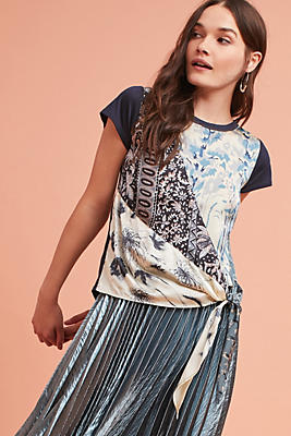 Slide View: 1: Prism Wrapped Tee