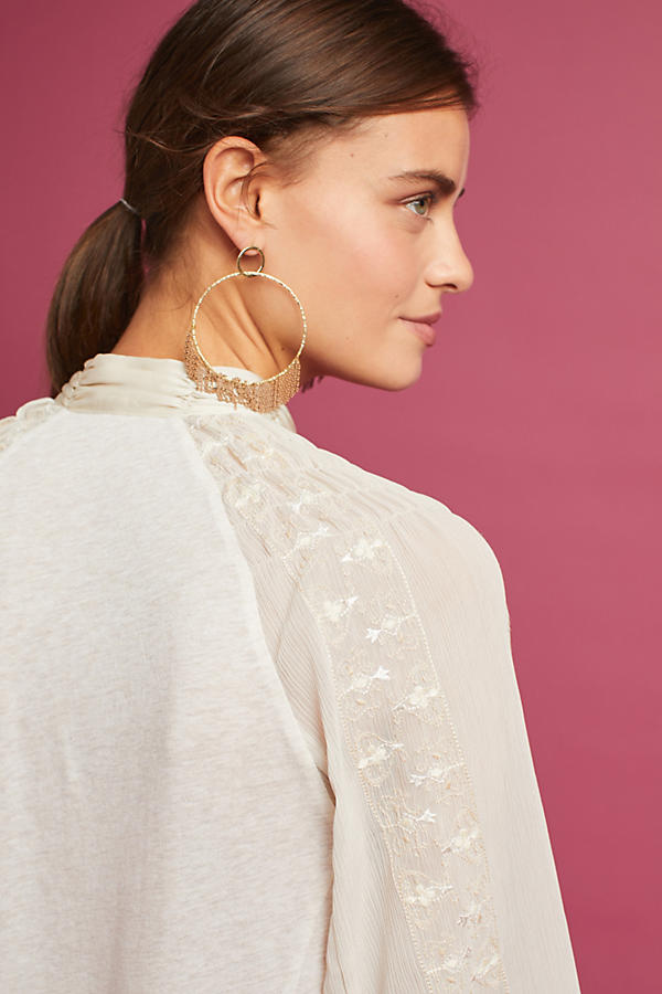 Slide View: 4: Maud Victorian Cutout Top