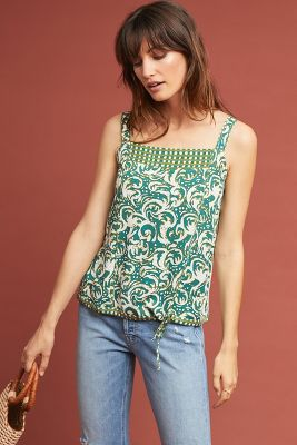 Jasmine Printed Tank by Tiny