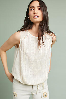 Slide View: 1: Addison Embroidered Top