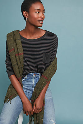 Slide View: 1: Tracy Striped Top