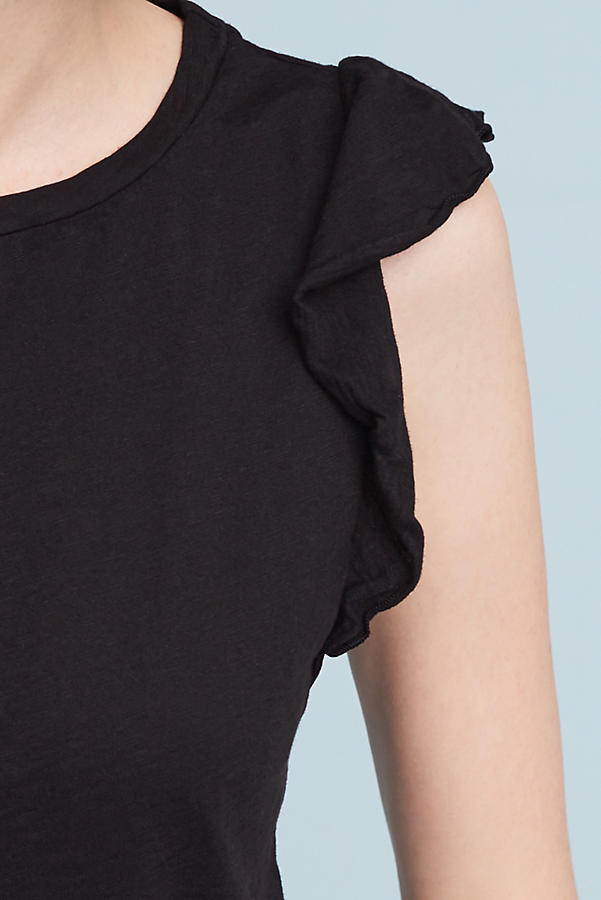 Slide View: 2: Marylou Ruffle Top