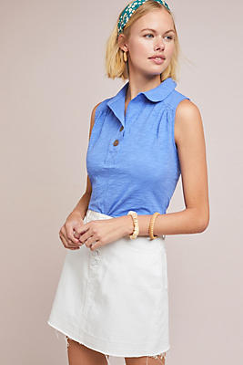 Slide View: 1: Bianca Collared Top
