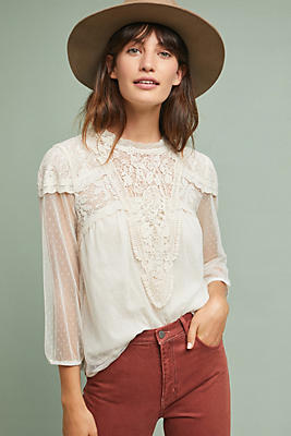 Slide View: 1: Tullemore Lace Top