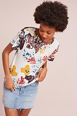 Slide View: 1: Stateside Floral Tee