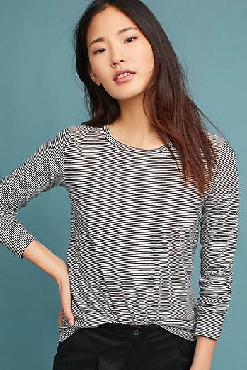 Stateside Seamed Long-Sleeve Tee