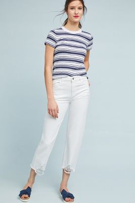 Stateside   Stateside Marina Striped Tee  -    BLUE MOTIF