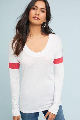 Stateside   Stateside Linen Pullover  -    NAVY