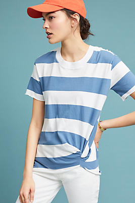 Slide View: 1: Stateside Ophira Striped Top