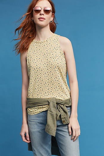 Honey Floral Tank Top