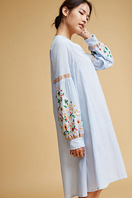 Slide View: 1: Frida Embroidered Tunic