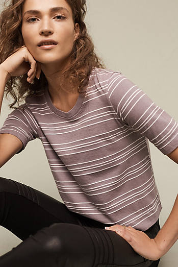 Striped Toby Tee