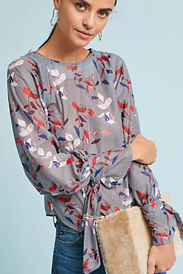 Slide View: 2: Claremont Printed Top