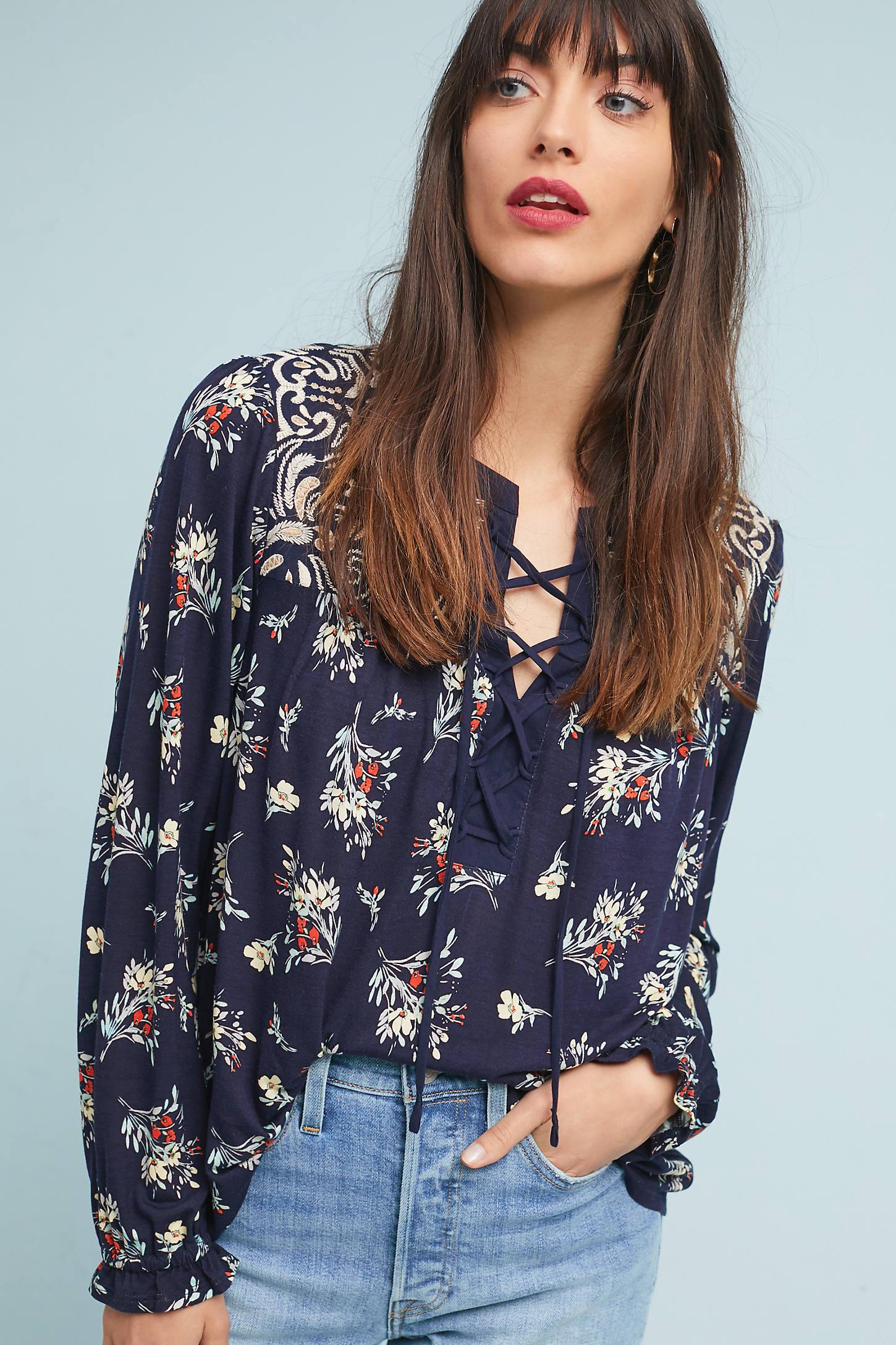 Sydney Floral Top