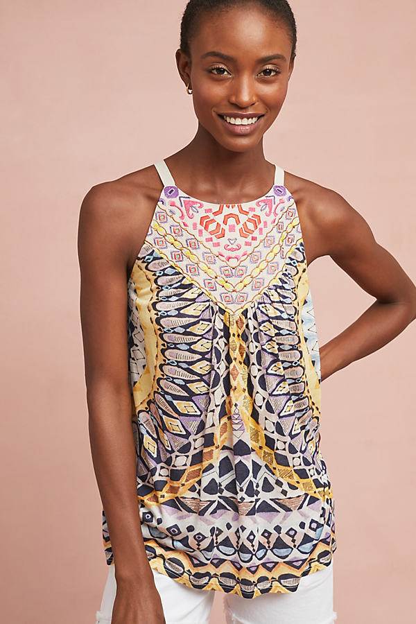 Strathmere Printed Tank Top - Assorted, Size M