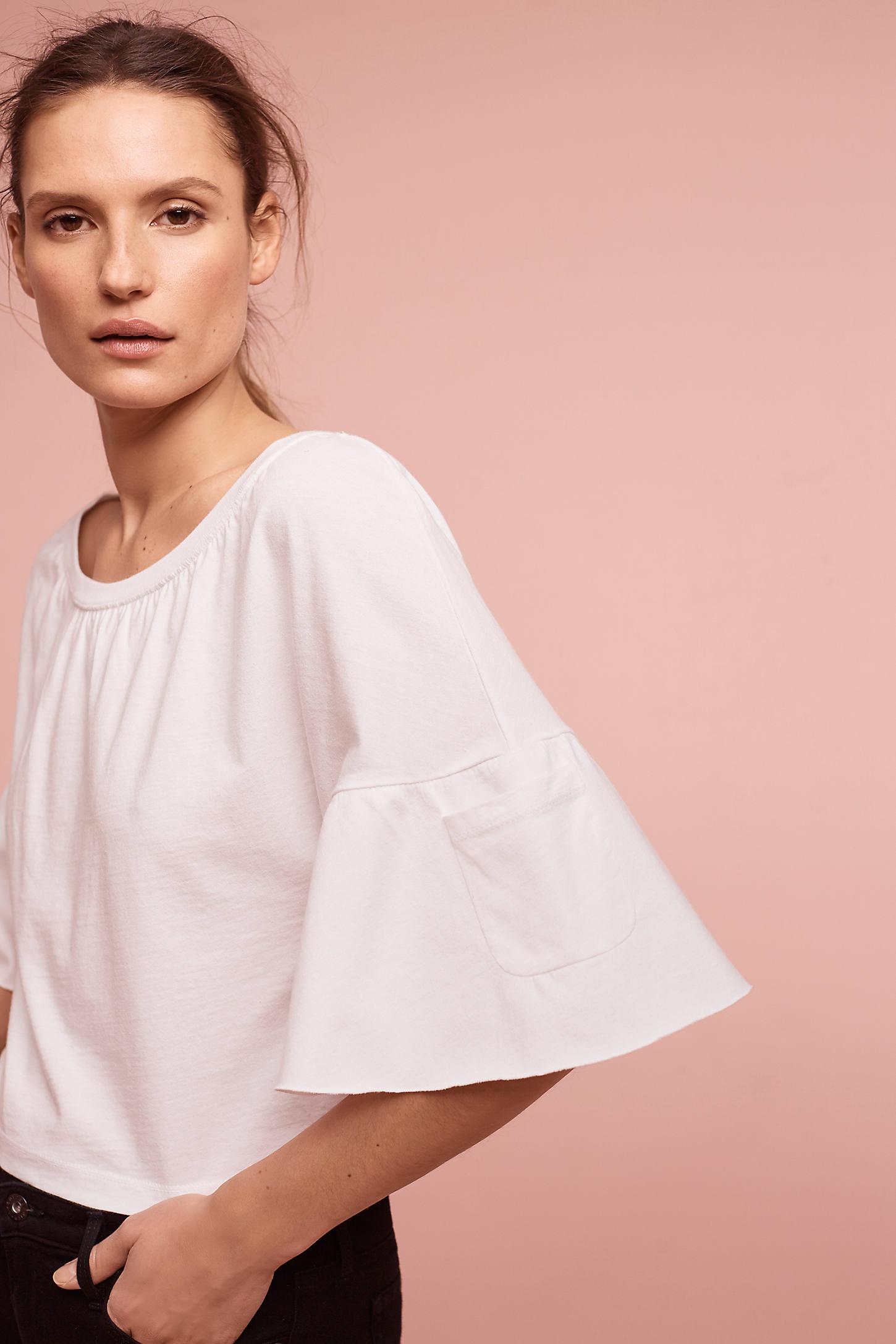 Esma Bell-Sleeve Top