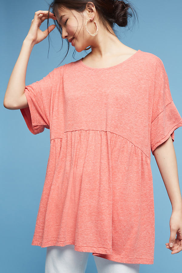 Cherry Tunic, Pink - Coral, Size M/l
