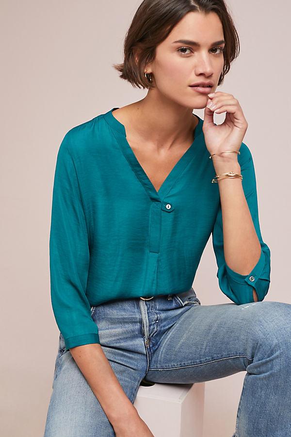 Jillie Shirt - Blue, Size Xs